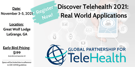 Discover Telehealth 2021: Real World Applications tickets