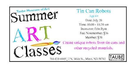 Tin Can Robots tickets