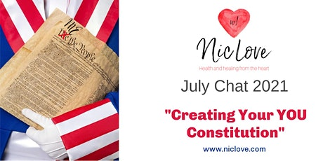 """""""Writing Your Constitution of YOU"""" - July Webinar tickets"""