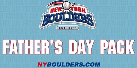 New York Boulders Father's Day Pack tickets