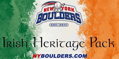 New York Boulders Irish Heritage Pack tickets