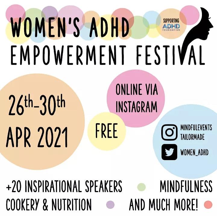 Women's ADHD Empowerment Festival image