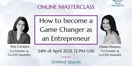 How to Become a Game Changer as an Entrepreneur tickets