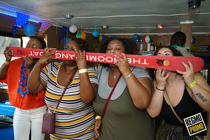 The Hip Hop R&B Boat Party - OPEN BAR image