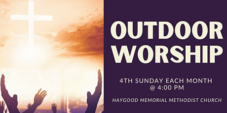 Fourth Sunday Outdoor Worship tickets