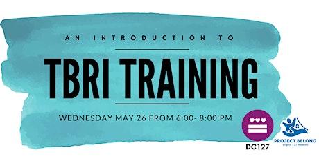 Trust Based Relational Intervention (TBRI) Training tickets