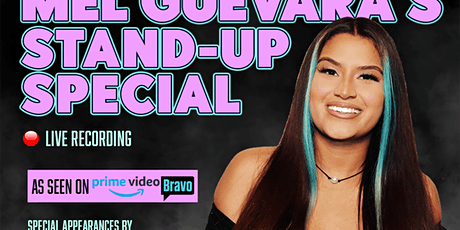 Stand-Up Comedy Show with Mel Guevara - Live Recording tickets