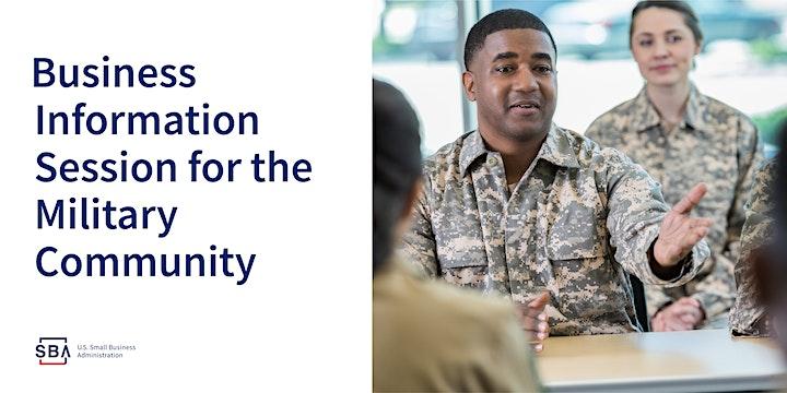 SBA Restaurant Revitalization Fund Info Session - Veterans image