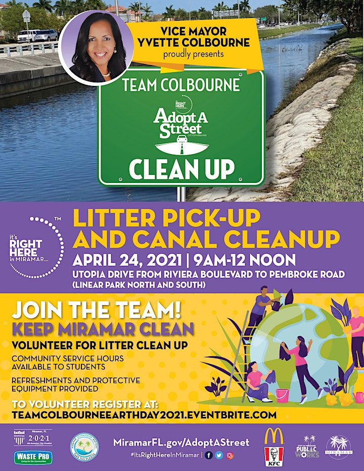 Team Colbourne Adopt-A-Street Earth Day April 2021 image