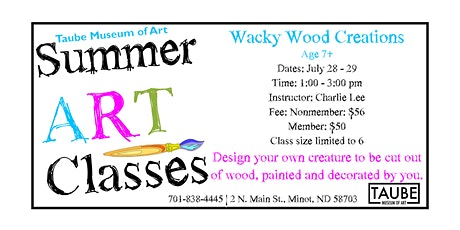 Wacky Wood Creations tickets