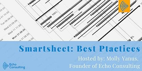 Webinar: Smartsheet Best Practices tickets