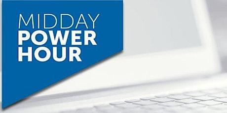 FDHA Midday Power Hour -Immunizations tickets