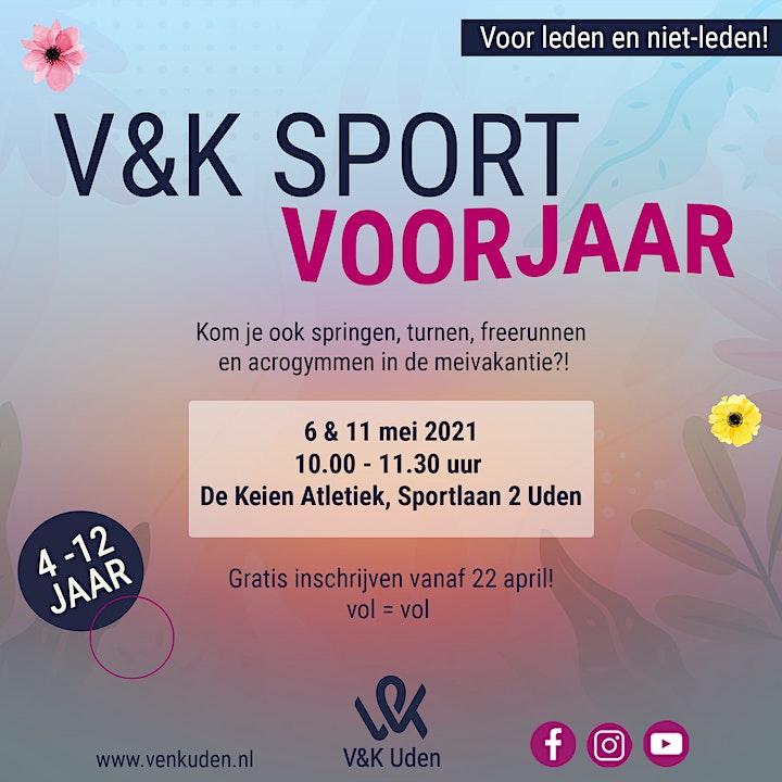 Afbeelding van V&K Sport Voorjaar!