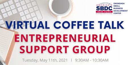 Virtual Coffee Talk - May 2021 tickets