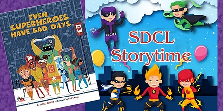 SDCL Superhero Story Time tickets