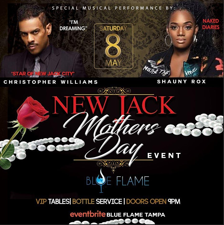 ** NEW JACK MOTHERS DAY EVENT** FEATURING CHRISTOPHER WILLIAMS & SHAUNY ROX image