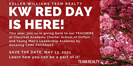 KWTR RED DAY 2021 TEACHERS CARE PACKAGES CONTRIBUTION tickets