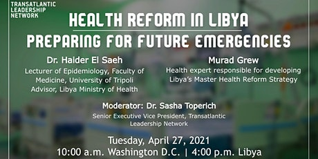 Health Reform in Libya: Preparing for Future Emergencies tickets