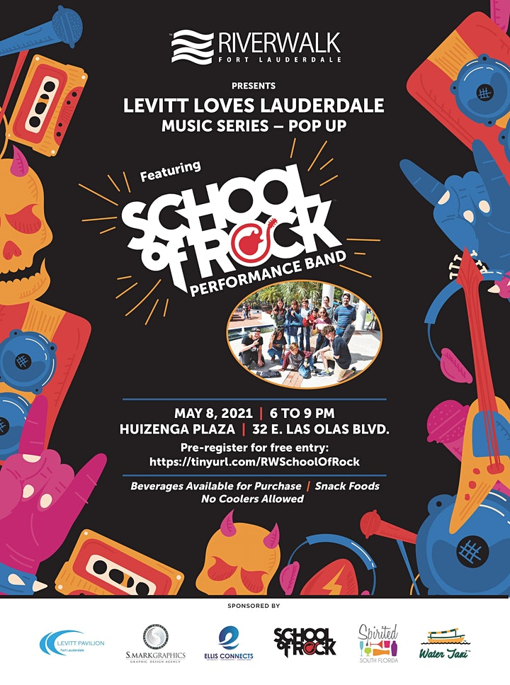 Riverwalk Music Series - School of Rock Performance Band image