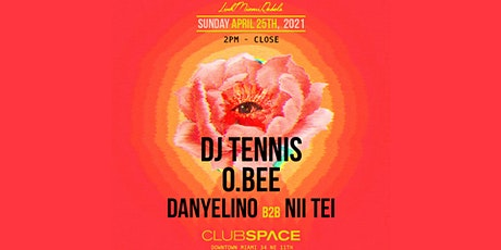 DJ Tennis @ Club Space Miami tickets
