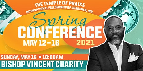 TOPIFC Spring Conference: Bishop Vincent Charity tickets