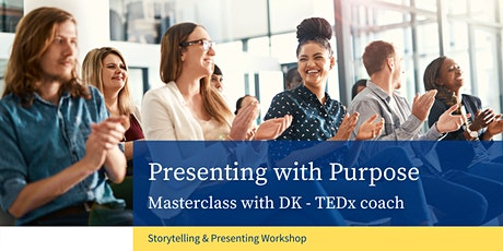 Presenting with Purpose Masterclass with DK tickets