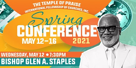 TOPIFC Spring Conference: Bishop Glen A. Staples tickets