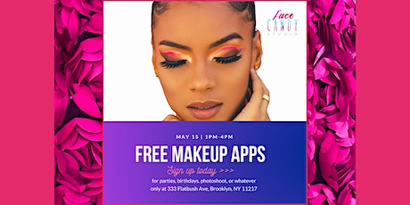 Free Makeup Applications in Brooklyn tickets