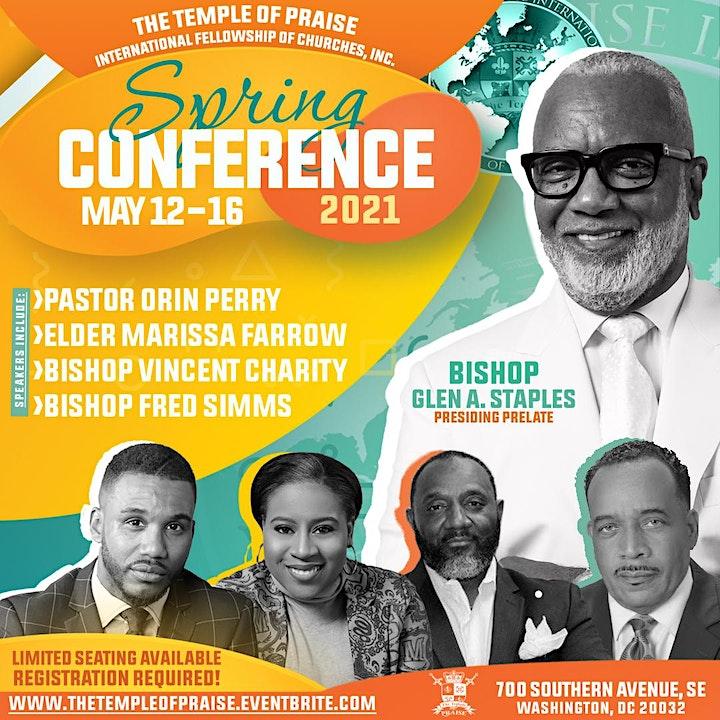 TOPIFC Spring Conference: Bishop Glen A. Staples image