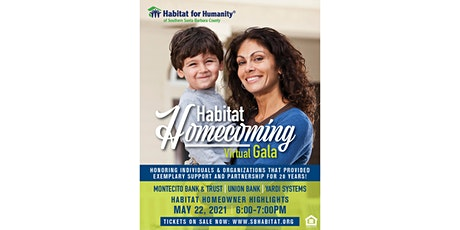 Habitat for Humanity Virtual Homecoming Gala tickets