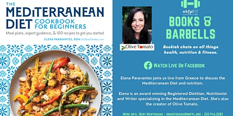 Books & Barbells: Chatting with Elena Paravantes of Olive Tomato tickets