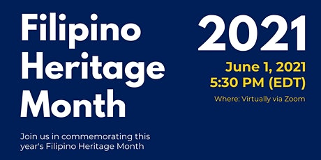 Commemorating Filipino Heritage Month 2021 tickets