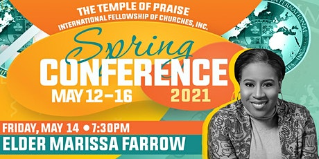 TOPIFC Spring Conference: Elder Marissa Farrow tickets