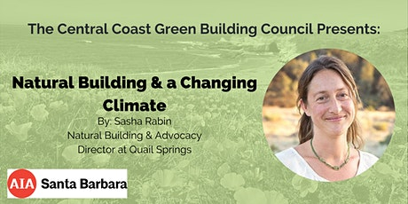 Green Building Speaker Series: Natural Building and a Changing Climate tickets