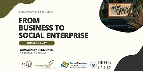 Community Session #1: From Business to Social Enterprise tickets