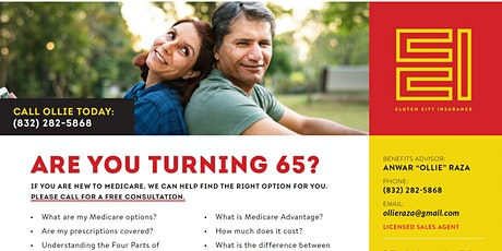 Medicare Options at 65?   Are you overwhelmed? We have answers tickets