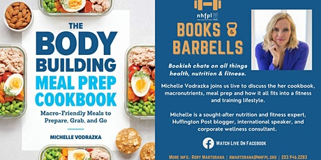 Books & Barbells: Michelle Vodrazka on Fitness Meal Prep tickets