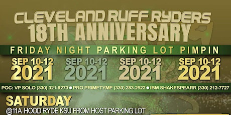 Cleveland Ruff Ryders 18th Anniversary tickets