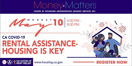 CA Emergency Rental Assistance Program-  The Housing is Key Program tickets