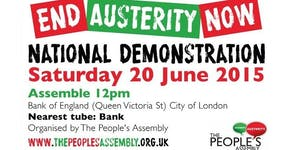 "York Coach to the ""End Austerity Now"" march + festival"