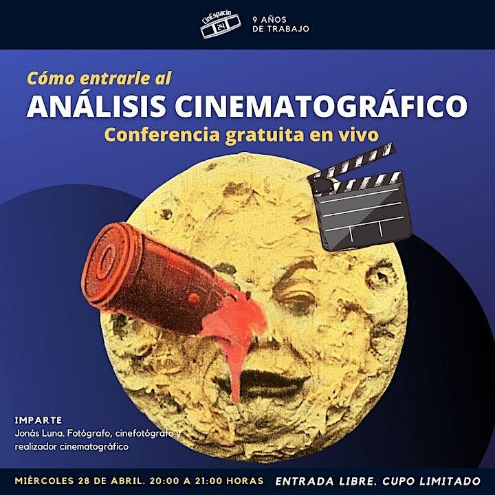 Imagen de Copia de Masterclass gratuita: Cómo entrarle al Análisis cinematográfico