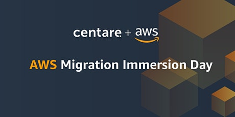 AWS Migration Immersion Day tickets