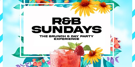 R&B Sundays Brunch & Dinner Party Experience |2hr Unlimited mimosa tickets