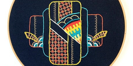 Introduction to Embroidery: Traditional Geometric tickets