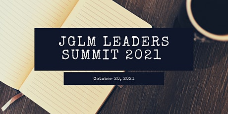 JGLM Leaders Summit tickets