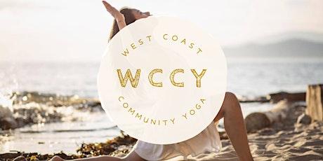 Tuesday Afternoon Yoga at Wreck Beach | Outdoor yoga for a cause entradas