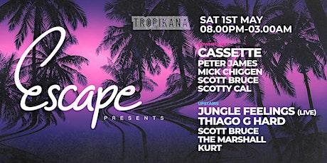 Escape Presents @ Tropikana Manly Ft Cassette, Animal Feelings & more. tickets
