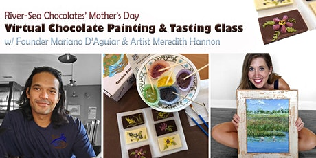 Family Virtual Chocolate Painting and Tasting for Mother's Day tickets