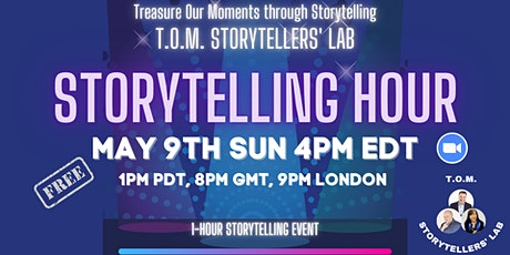 T.O.M Storytelling Hour tickets