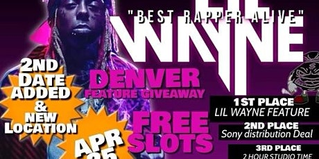 LIL WAYNE DENVER GIVEAWAY - NIGHT 2 (Hosted by ABOOC CARTER & TROY GOOD) tickets